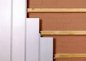 Отделка стен с помощью панелей из ПВХ и МДФ
