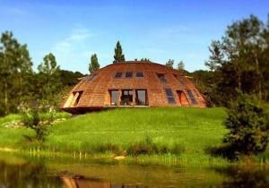Возведение экологических домов