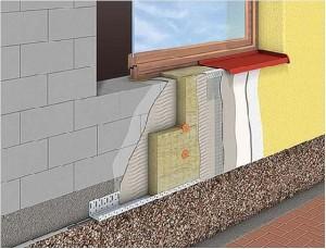 «Мокрый» метод отделки фасадов