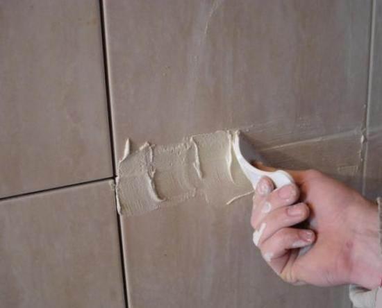 Затирка для швов керамической плитки своими руками