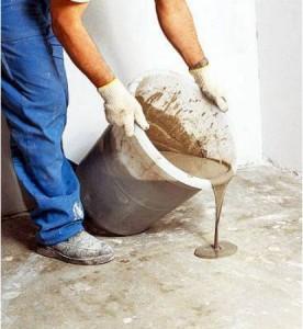 Заливка полов бетоном в частном доме