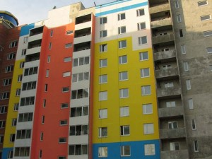 Выбор ЛКМ на фасад