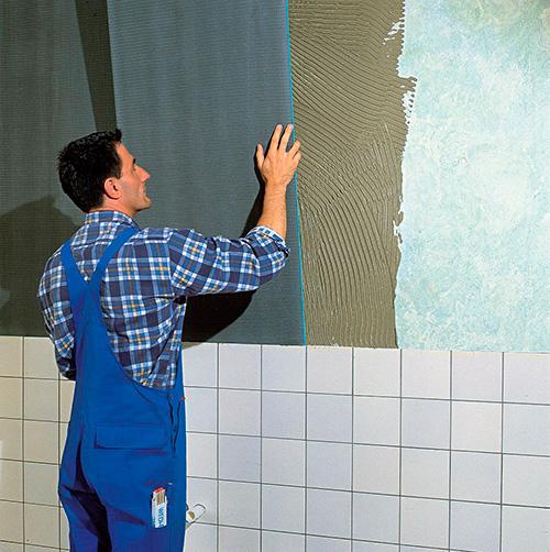 Выравнивание стен ванной комнаты своими руками