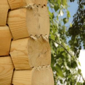Как укрепить деревянный дом