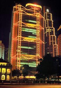 Праздничное оформление фасадов