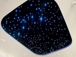 Варианты создания потолка - «Звездное небо»