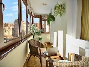 Балкон как место для отдыха