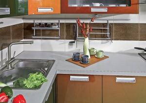 Какой выбрать материал для кухонной столешницы