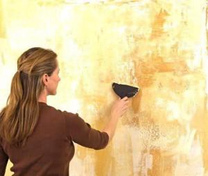 Ход работы по шпаклевке стен