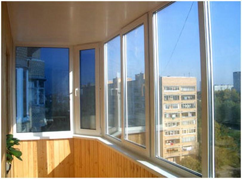 Остекление балкона своими руками.